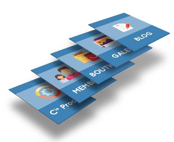 Composer votre site suivant vos envies. Nous développons vos besoins - Agence de communication HOUNDDD