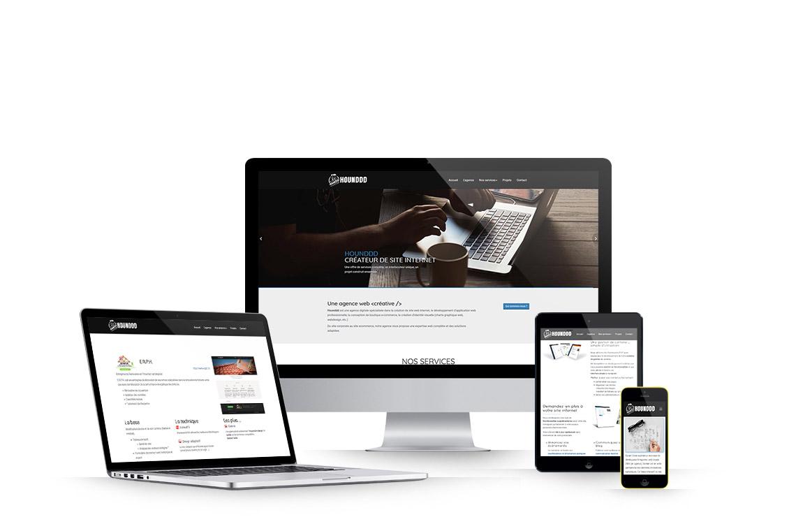 Createur De Site Internet les sites internet que nous proposons - hounddd - créateur